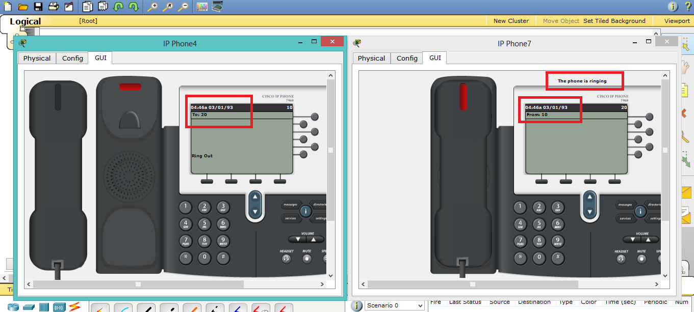 Configuring VoIP: Basic level_Packet Tracer | Edson Vuma