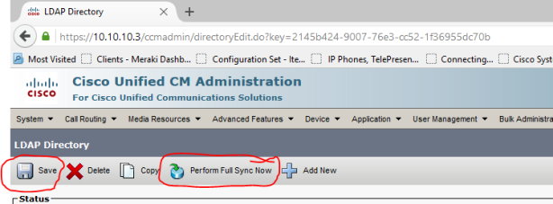 Configuring CUCM 9 1: Integration with Microsoft Active